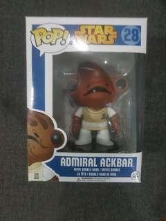 Funko Pop Admiral Ackbar Blue Box