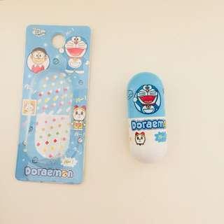 Doraemon pill capsule retractable pen