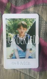 [SEVENTEEN] Aju Nice Woozi Photocard