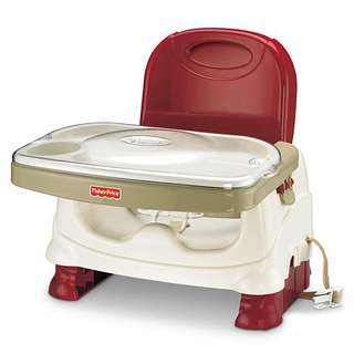 Fisher Price healthy deluxe booster seat with tray