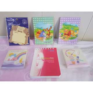 Buy 3 Sets Get 1 Free Notebooks.