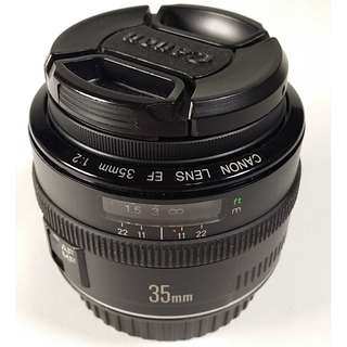 Canon EF 35mm f/2.0 (CL031)