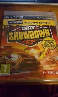 PS3 game Dirt Showdown