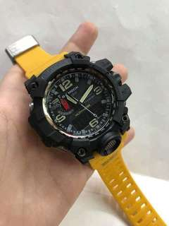GWG-1000 YELLOW MUDMASTER GSHOCK WATCH
