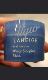 🚚 Laneige Water Sleeping Mask (15ml)