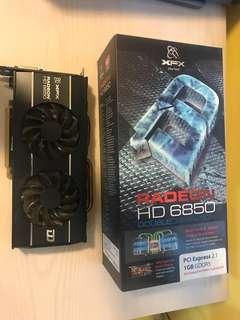 XFX RADEON HD6850