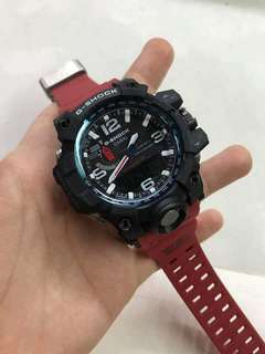 GWG-1000 RED MUDMASTER GSHOCK WATCH