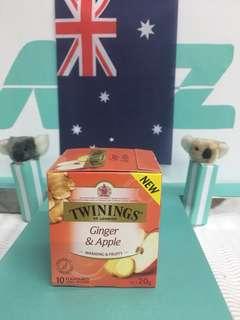 🇬🇧英國Twinings 唐寧  蘋果薑茶 10包