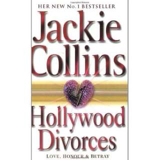 Hollywood Divorces Mass Market Paperback by Jackie Collins