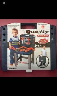 Portable Toolset for Boys Design A