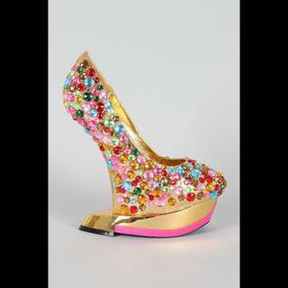 BRAND NEW Bejeweled Platforms