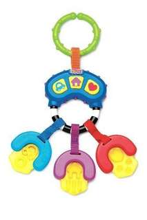 Fisher Price Musical Teether Car Keys Toy with Sounds and Music