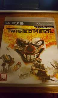 PS3 game Twisted Metal