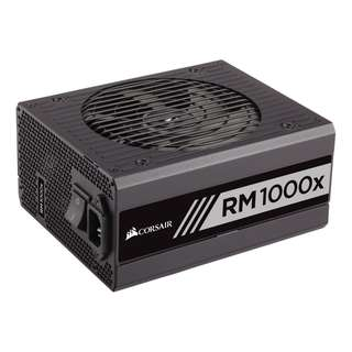 CORSAIR RM1000x 1000W 80 PLUS GOLD Certified Full Modular ATX Power Supply