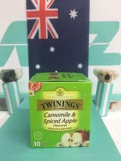 🚚 🇬🇧英國Twinings 唐寧  甘菊蘋果茶 10包