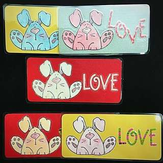 Pui pui bunny bookmark