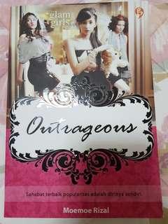 Novel Outrageous (oleh Moemoe Rizal)