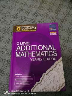 O LEVELS ADDITIONAL MATHS TYS 05-14