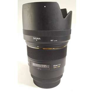Sigma 85mm F1.4 EX DG HSM for Canon (CL044)