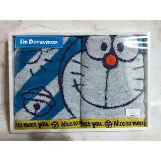 🚚 日版 多啦a夢 Doraemon 毛巾 方巾 組合包 禮盒 小叮噹日本空運