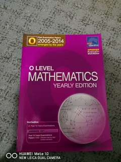 O Level Mathematics TYS 05-14