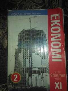 Buku Ekonomi SMA kelas 2