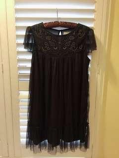 Zara Girl soft Collection 摩洛哥風情紗紗 小洋裝13-14 164cm