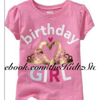 "ON ""Birthday Girl"" Tees"