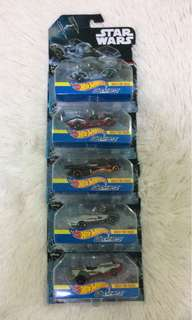 Hot Wheels Star Wars Collection (5cars)