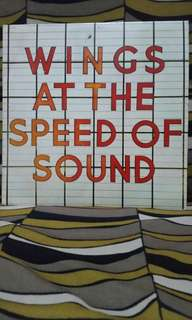 Wings At The Speed Of Sound Vinyl
