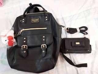 Anello hello kitty bag and wallet set