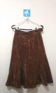 🚚 絨布魚尾裙