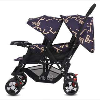 BN twin double stroller(FREE DELIVERY)