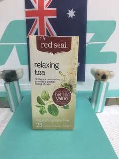 🚚 🇳🇿紐西蘭 red seal 紅印 relaxing tea 解壓舒緩茶包 25入