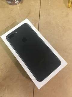 IPhone 7 Plus Matt black 32GB