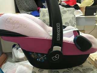 Maxi cosi car seat BB 初生籃
