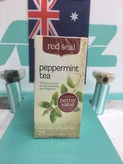 🚚 🇳🇿紐西蘭 red seal 紅印 peppermint 薄荷茶包 幫助消化茶包 25入