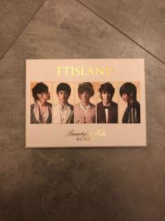 Ft island beautiful hits for Asia CD+DVD