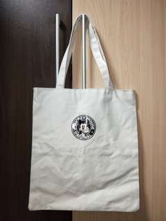BN mickey mouse canvas tote bag
