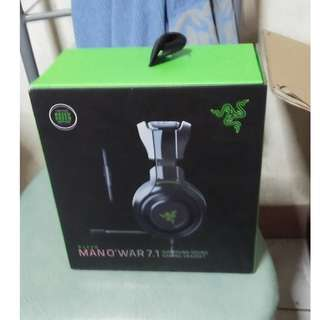 Razer Man'owar 7.1 Gaming Headset for PC/Xbox/PS4