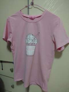 Pink Ice Cream Top