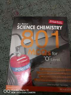Science Chemistry 801 MCQ