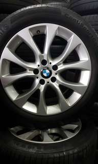 BMW 255/50/19 rims and tyres