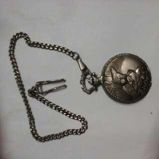 古老银, 懷陀錶,😊