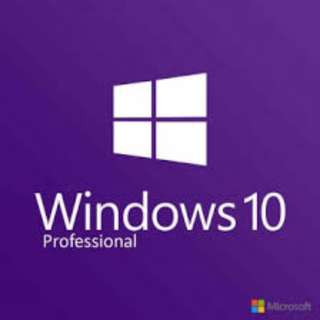 Microsoft Windows 10 PRO for 1 PC