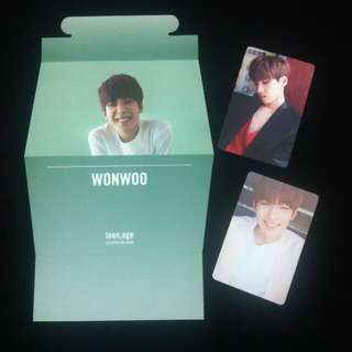 [WTS] Wonwoo Standee and photocards (OFFICIAL)