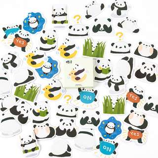 Panda Hugs Scrapbook / Planner Stickers #108