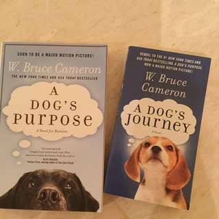 A Dog's Purpose book 1 & 2