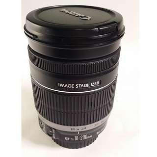Canon EF-S 18-200mm F3.5-5.6 IS  9成新 (CL054)
