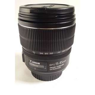 Canon EF-S 15-85mm f/3.5-5.6 IS USM (CL055)